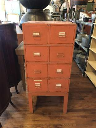 Cole Steel Industrial Multi-Drawer Unit Cabinet