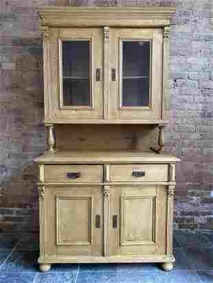 French Country Pine Sideboard 2pc