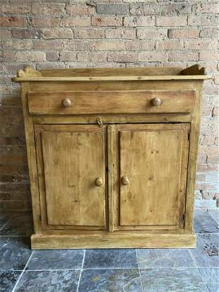 Country French Pine Cabinet
