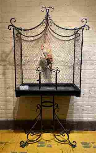 Large Victorian Bird Cage