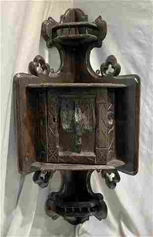 Ornate Eastlake Victorian Corner Cabinet wedding gift