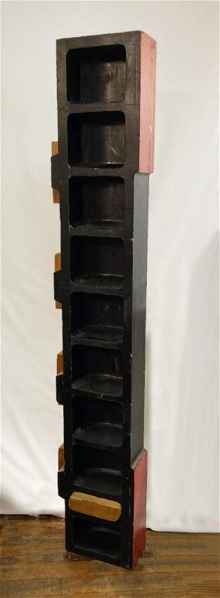 Large Early 19th c Wood Foundry Mold