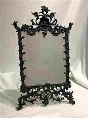 Large Ornate Victorian Frame Cast Metal