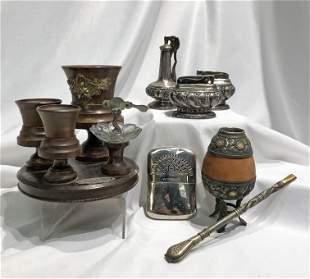 Collection 1900's Lighter Smoking Paraphanalia Lot