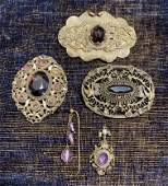 Collection Victorian Amethyst Jewelry