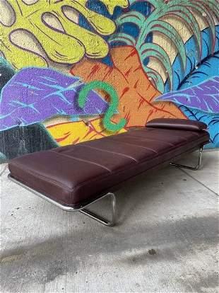 Brayton International Post Modern Leather Daybed