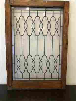 Early 1900 Leaded Window