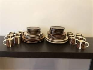 Ellen Evans Post Modern Set of Dishes