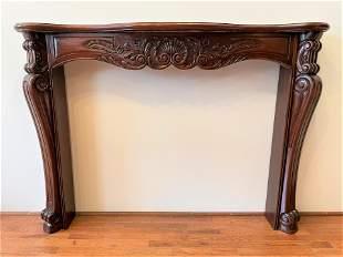 Mahogany Fireplace Mantle