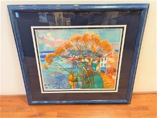 Signed George Lambert French Art #1