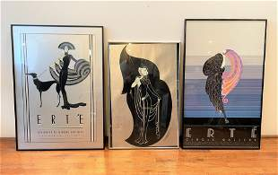 Collection Erte Posters