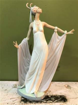 Lladro of Woman with Shall