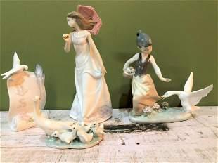 Lladro Umbrella Girl, Collectors Society & More