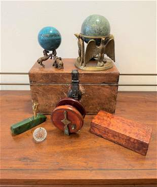 Collection Desktop Items, Fishing Reel & More