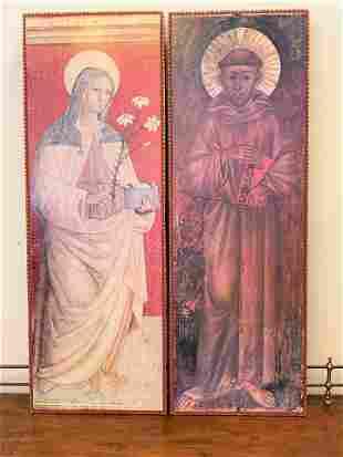 Pair Religious Icons