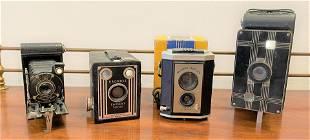 Collection Antique Cameras, Kodak, etc.