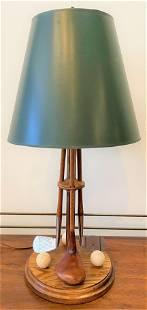 Vintage Golf Lamp