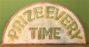 Vintage Advertising Carnival Sign