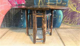 Old Hickory Gate Leg Dining Table