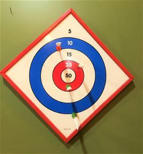 Vintage 1950's Dart Board