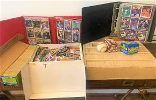 Big Lot Vintage Baseball Cards Signed R Ventura