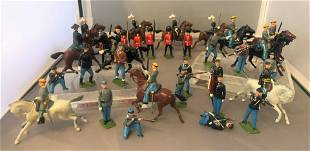 Collection British Lead Soldiers