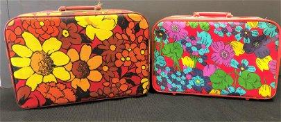 2 Mid Century Wayfarer Suitcases