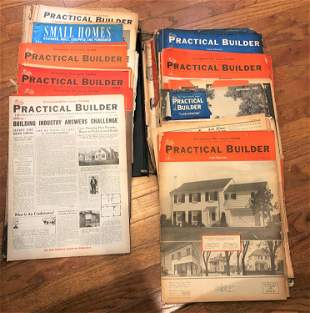 Collection Ephemera 1930's-1940's Practical Builder