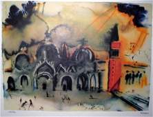 SALVADOR DALI LTD ED 2663 of 4900 Litho - Venice R