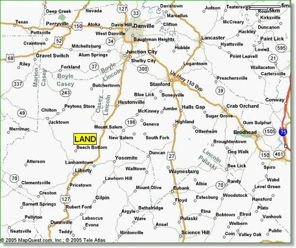 1153: KENTUCKY INVESTMENT PROPERTY 7.8 AC~$430/MO.