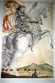 SALVADOR DALI LTD ED 62 of 500 Litho - Saint Geor