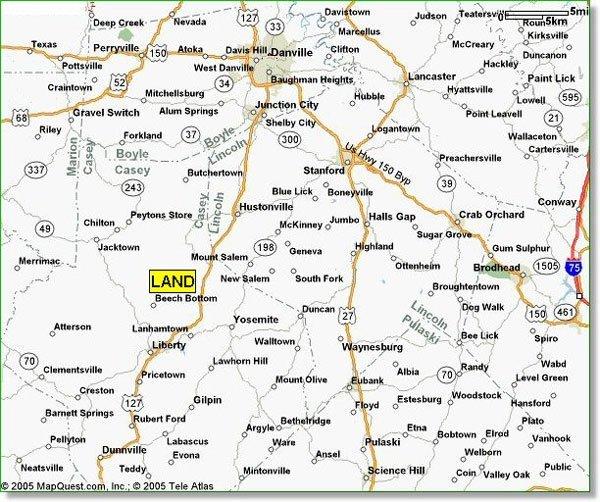 1667: 7.810 AC Private Estate Farms~B&A $430/mo.