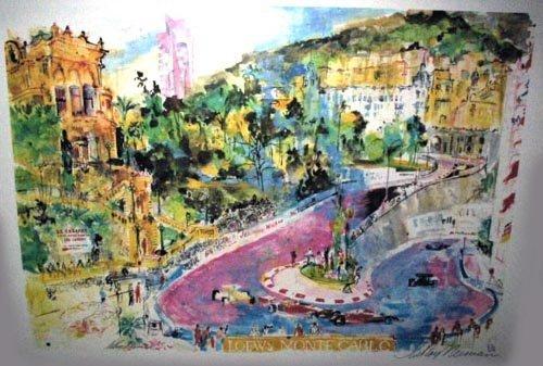 2701: LEROY NEIMANLitho - Monte Carlo Grand Prix, INVES
