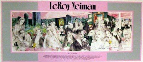 2720: LEROY NEIMANLitho - Polo Lounge Hand Signed, INVE