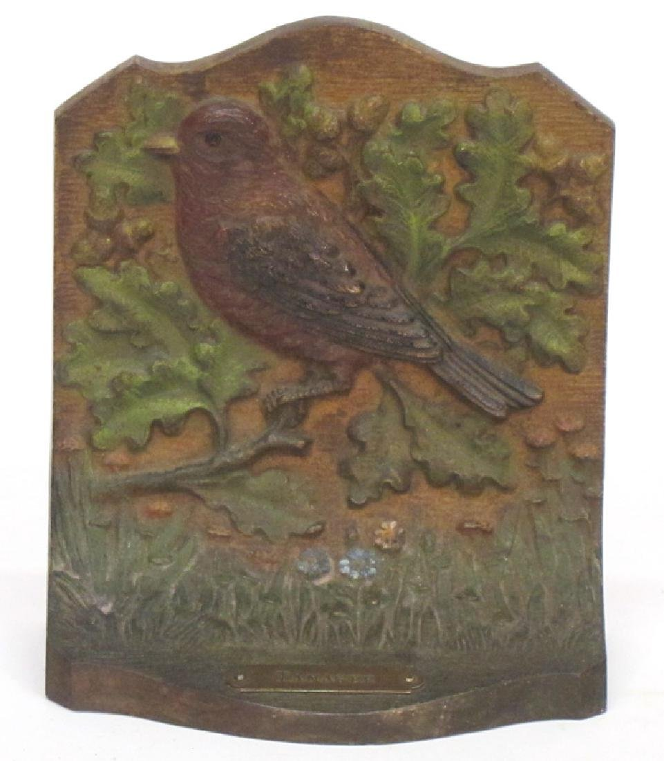 TANAGER BOOKEND