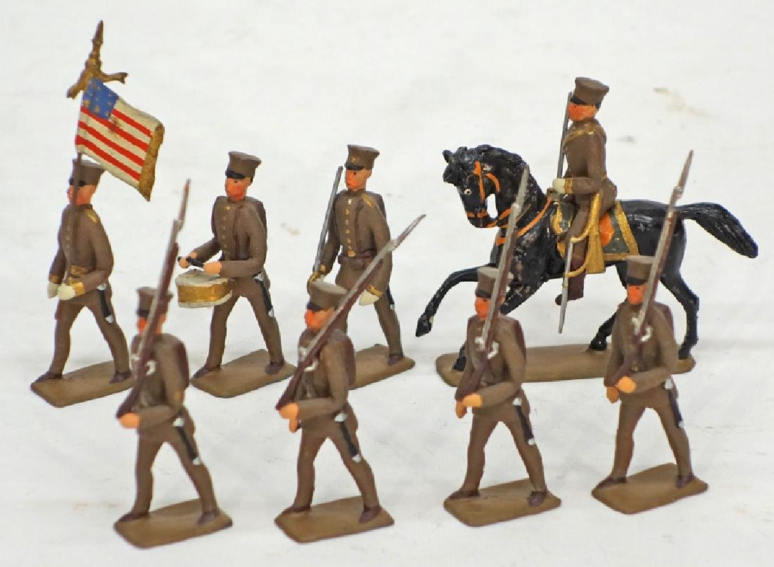 HEYDE AMERICAN WWI MILITARY FIGURES (30)