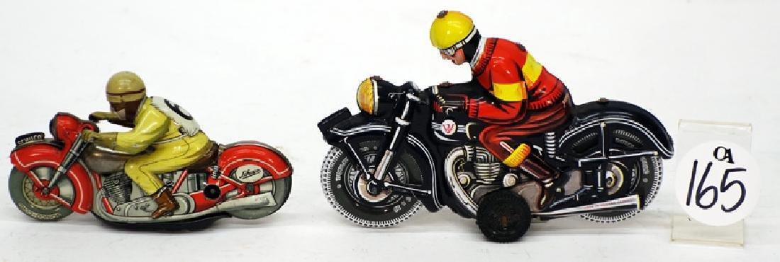 TIN TOY MOTORCYCLES (2)