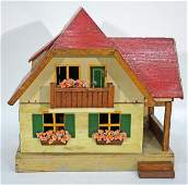 SMALL GERMAN DOLL HOUSE
