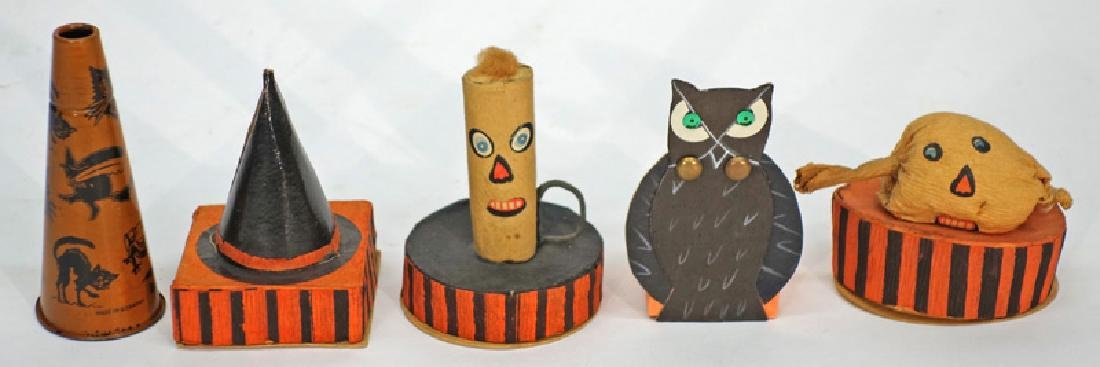 HALLOWEEN CANDY CONTAINERS, KAZOO (5) PCS.