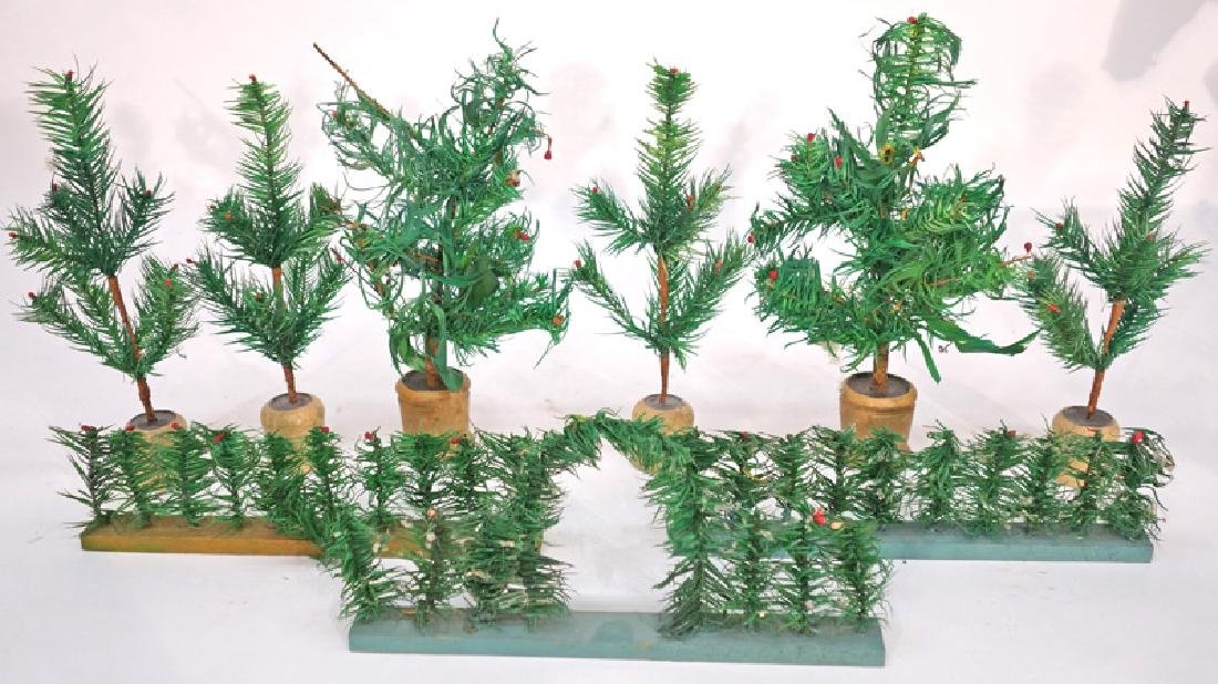FEATHER CHRISTMAS TREES (17)
