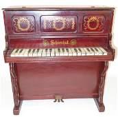 CHILD'S SCHOENHUT PIANO