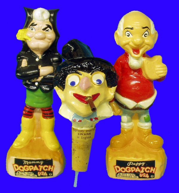 3: LIL ABNER & GROUCHO MARX FIGURES COMPOSITION