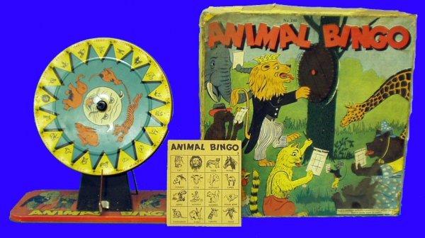 5: ANIMAL BINGO BALDWIN MANUF. -