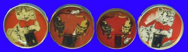 19: (3) CAT & MOUSE DEXTERITY PUZZLES