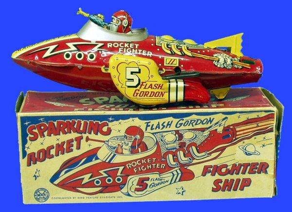 85: MARX FLASH GORDON FIGHTER SHIP