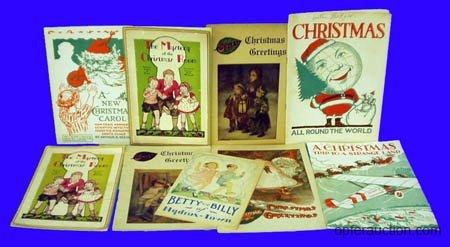 1055: SODA FOUNTAIN CHILDREN'S CHRISTMAS BOOKLETS (9)