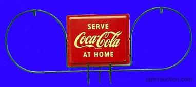 1390 COCACOLA RACK SIGN