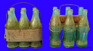 (2) COCA-COLA BOTTLE CARRIERS