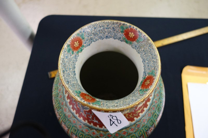 CHINESE EXPORT VASE - 3