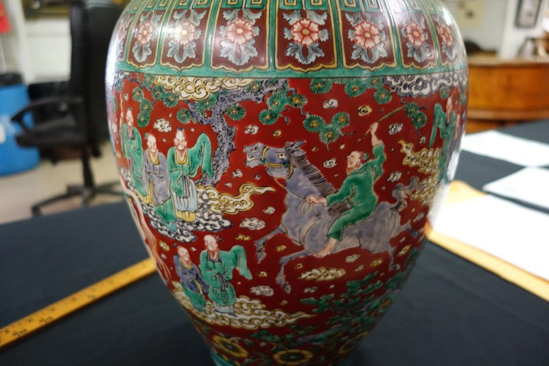 CHINESE EXPORT VASE - 4